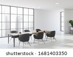 interior of panoramic dining...   Shutterstock . vector #1681403350