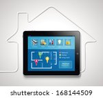 home automation   smart... | Shutterstock .eps vector #168144509