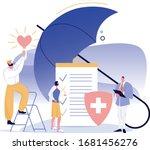 health insurance service... | Shutterstock .eps vector #1681456276