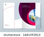 cover with minimal magenta... | Shutterstock .eps vector #1681492813