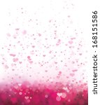 Vector Pink Background With...