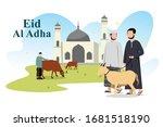 Eid Adha Mubarak Illustration...