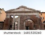 The Porticus Octaviae  Portico...