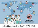 doctors  nurses and people...   Shutterstock .eps vector #1681572130