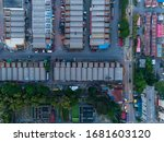 An Aerial View Of Shop Lot...