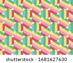bright color beautiful... | Shutterstock . vector #1681627630