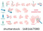 hand wash hygiene and... | Shutterstock .eps vector #1681667080