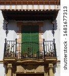 Renaisance Facade And Balcony...