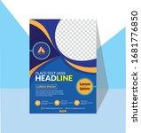 template vector design for... | Shutterstock .eps vector #1681776850