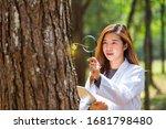 Botanical Scientist. Surveying...