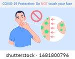 coronavirus covid 19 protection ... | Shutterstock .eps vector #1681800796