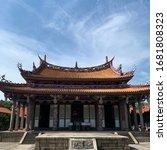 Temple  Sky  Cloud  Taoism  Old