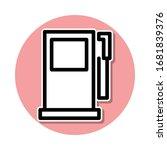 petrol filling machine sticker...