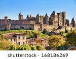 Castle Of Carcassonne  France
