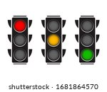 Hanging Traffic Lights With All ...