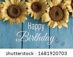 Happy Birthday. Birthday...