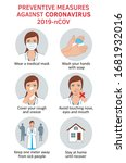 coronavirus covid 19...   Shutterstock . vector #1681932016