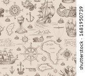vector abstract seamless... | Shutterstock .eps vector #1681950739