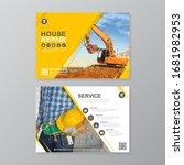corporate construction tools...   Shutterstock .eps vector #1681982953