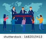 vector of government officials... | Shutterstock .eps vector #1682015413