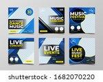 electronic music festival... | Shutterstock .eps vector #1682070220