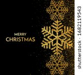 merry christmas greeting card.... | Shutterstock . vector #1682119543