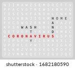 coronavirus. wash hands and...   Shutterstock .eps vector #1682180590