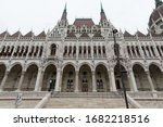 View To Hungarian Parliament...