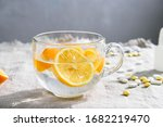 Transparent Glass Cup With...
