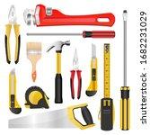 tools set vector design...   Shutterstock .eps vector #1682231029