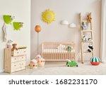 Decorative Baby Room Wooden...