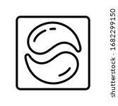 Washing Capsule Icon. Linear...