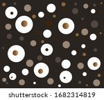 brown background with circles... | Shutterstock .eps vector #1682314819