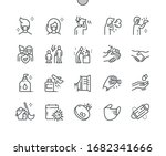 coronavirus well crafted pixel... | Shutterstock .eps vector #1682341666