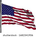 flag. logo set. icon.... | Shutterstock .eps vector #1682341906