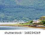 House In A Bay At Scottish...