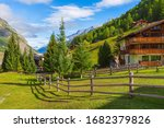 Traditional Wooden Houses And...