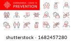 coronavirus 2019 ncov disease...   Shutterstock .eps vector #1682457280