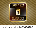 gold shiny badge with... | Shutterstock .eps vector #1682494786