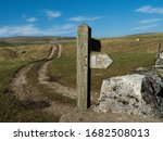 The Pennine Way At Malham Tarn...