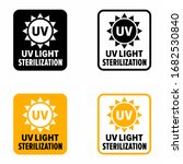 """uv light sterilization""... | Shutterstock .eps vector #1682530840"