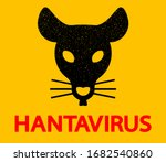vector rat head silhouette...