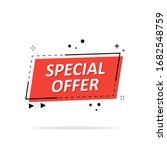 special offer  sale tags ...   Shutterstock .eps vector #1682548759