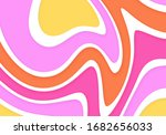 abstract wavy flow background.... | Shutterstock .eps vector #1682656033
