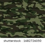 green forest camouflage... | Shutterstock .eps vector #1682726050