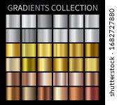 gold  silver  bronze gradients. ...   Shutterstock .eps vector #1682727880