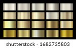 gold metallic  bronze  silver ... | Shutterstock .eps vector #1682735803