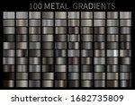 metal gradient color set.... | Shutterstock .eps vector #1682735809