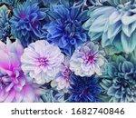 Beautiful Fresh Colorful Blue ...