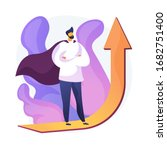 personal growth motivation.... | Shutterstock .eps vector #1682751400
